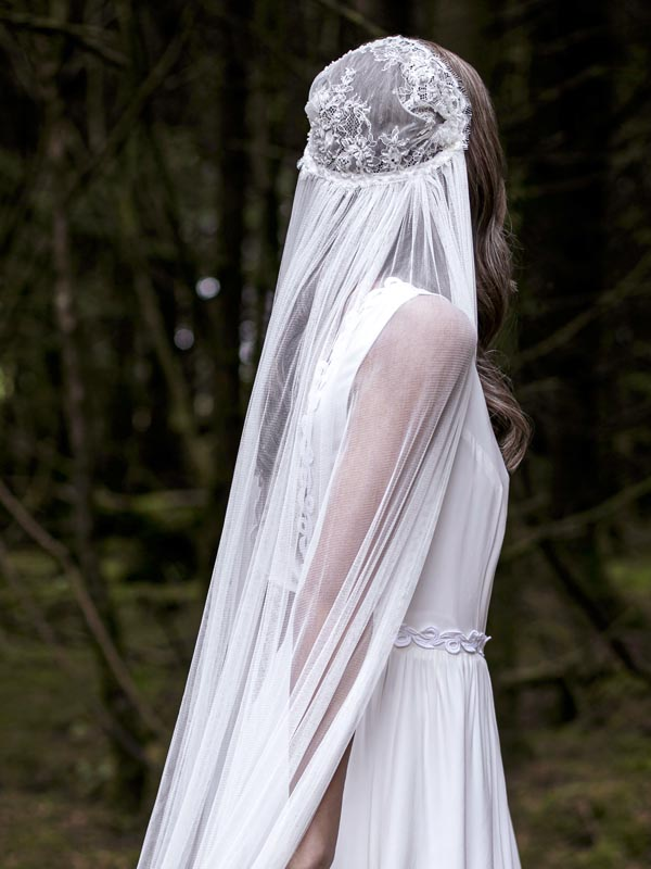 Rose Wedding Veil